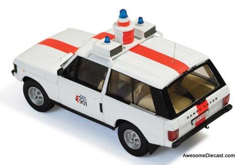 IXO 1:43 1970 Range Rover 4x4: Belgium Police