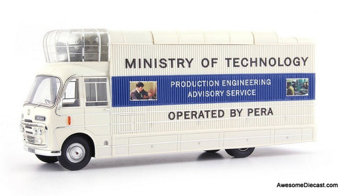 AutoCult 1:43 1967 Bedford SB3 Mobile Cinema: Ministry of Technology