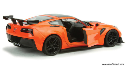 Motormax 1:24 2019 Chevrolet Corvette ZR1, Orange