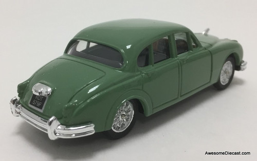 Corgi 1:43 Jaguar MK2 Sedan, Light Green