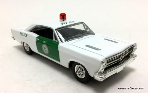 Matchbox 1:43 1966 Ford Galaxie 500XL: Miami Dade Police