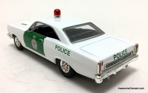 Matchbox 1:43 1966 Ford Galaxie 500XL: Miami Dade Police