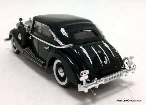 Signature models 1:43 1937 Maybach SW38 4 Door Cabriolet Spohn