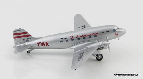 Hobby Master 1:200 1938 Douglas DC-3: TWA Lindbergh Line