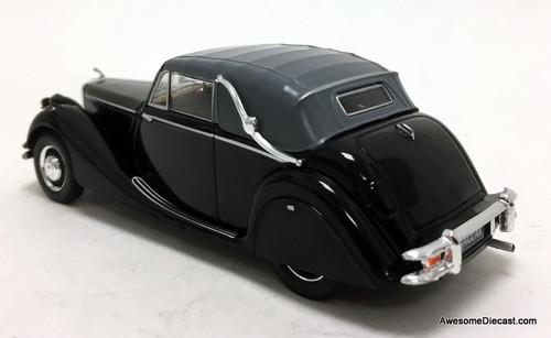 Ixo 1:43 1950 Jaguar MK V 3.5 Litre Convertible, Black