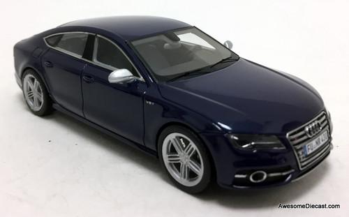 Schuco 1:43 Audi S7 Sportback, Metallic Blue