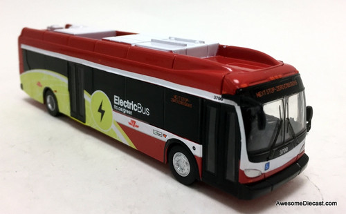 Iconic Replicas 1:87 New Flyer Xcelsior XE40 Electric Bus: Toronto TTC