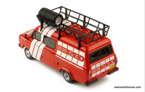 IXO 1:43 1995 Ford Transit: Rally Engineering Development Race Support Truck