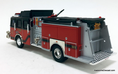 Corgi 1:50 E1 Pumper: Hazel Crest Fire Department
