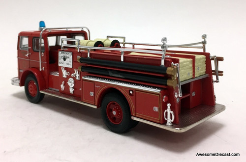 Corgi 1:50 Seagrave K: Jackson Tennessee Fire Department