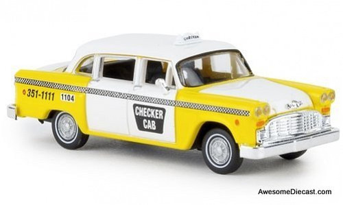 Brekina 1:87 Checker Taxi Cab: Atlanta