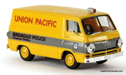 Brekina 1:87 Dodge A100 Van: Union Pacific Rail Road Police