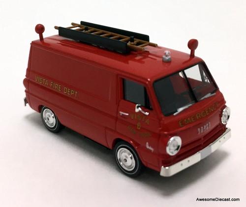 Brekina 1:87 Dodge A100 Van: Fire Rescue, Vista New York