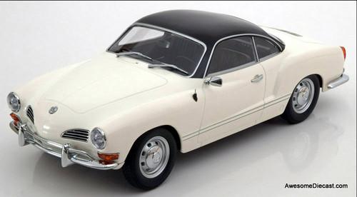 Minichamps 1:18 1970 Volkswagen Karmann Ghia Convertible, White