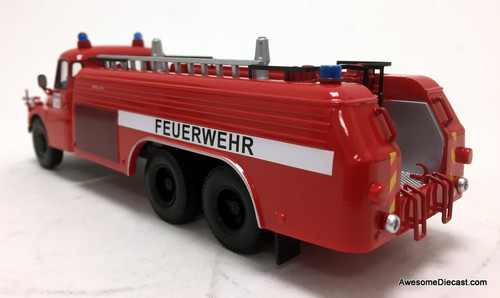 Schuco 1:43 Tatra T148 Fire Tanker Truck: Munich Fire Service