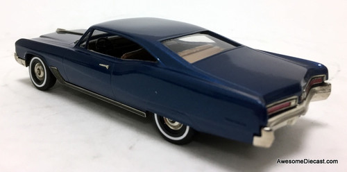 Brooklin Models 1:43 1967 Buick Wildcat 2 Door Sport Coupe, Blue