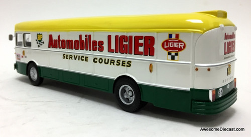 Spark 1:43 1971 Saviem S45 Race Car Transporter: Team BP / Ligier
