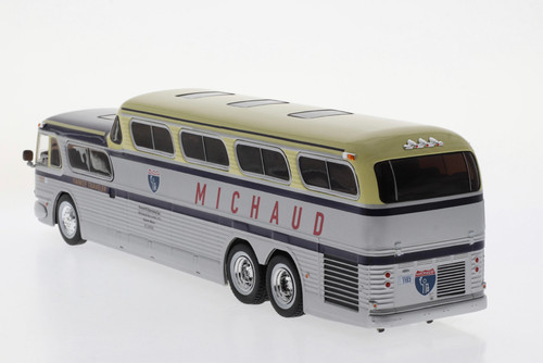 Iconic Replicas 1:43 GM PD4501 SceniCruiser Coach: Michaud Bus Lines
