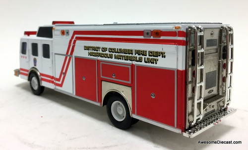 Corgi 1:50 E-One Rescue Hazardous Materials Unit: Washington DC Fire Department