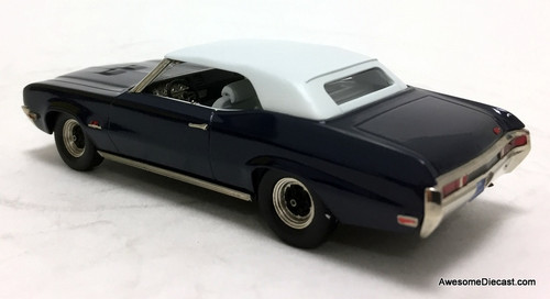 Brooklin Models 1:43 1970 Buick Gran Sport 455 Convertible, Blue