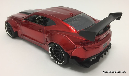 Jada 1:24 2016 Chevrolet Camaro SS, Candy Red: Big Time Muscle