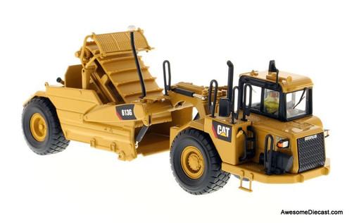 Diecast Models 1:50 Caterpillar 613G Wheel Scraper, Yellow