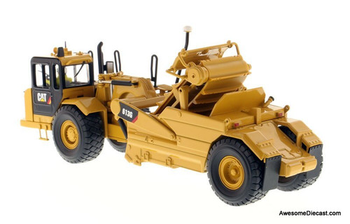 Diecast Models 1:50 Caterpillar 613G Wheel Scraper, Yellow