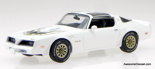 Greenlight 1:43 1977 Pontiac Firebird Trans Am, Cameo White