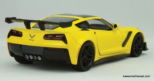 Motormax 1:24 2019 Chevrolet Corvette ZR1, Yellow