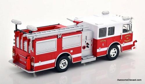 IXO 1:43 Seagrave Marauder 11: Charlotte Fire Department