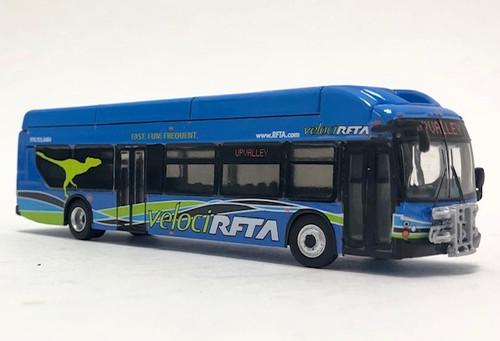Iconic Replicas 1:87 New Flyer xcelsior XN40 Transit Bus: Aspen / Roaring Fork Transit
