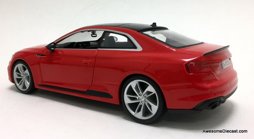 Burago 1:24 2015  Audi RS 5 Coupe, Red