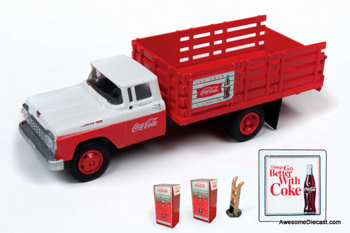 Classic Metal Works 1:87 1960 Ford Stakebed: Coca Cola