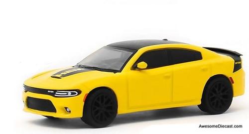 Greenlight 1:64 2017 Dodge Charger Daytona Hemi, Yellow: Pennzoil