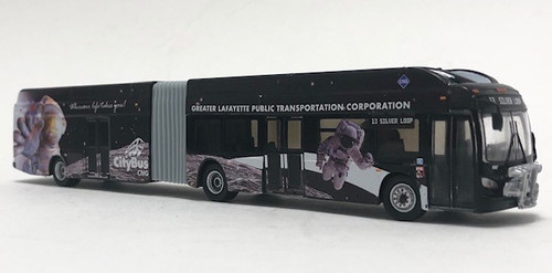 Iconic Replicas 1:87 New Flyer Xcelsior XN60 Transit Bus: Lafayette, IN