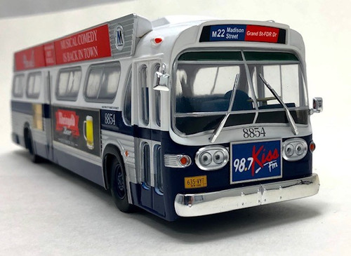 Iconic Replicas 1:43 GM TDH-5303 Transit Bus: New York MTA - #3 In A Series