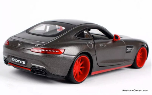 Maisto 1:24 Mercedes Benz AMG GT, Dark Metallic Gray