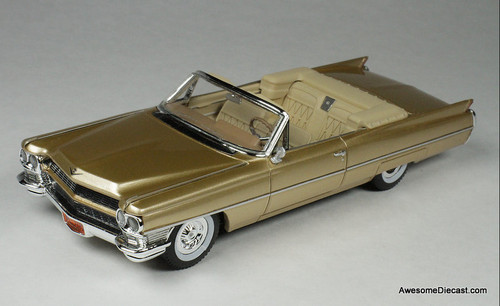 Goldvarg Collection 1:43 1964 Cadillac DeVille Convertible, Saddle