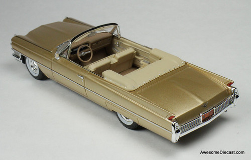 Goldvarg Collection 1:43 1964 Cadillac DeVille Convertible, Saddle