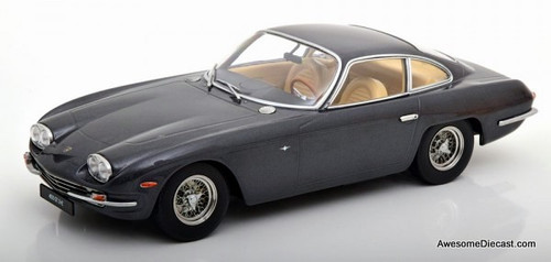 KK-Scale 1:18 1965 Lamborghini 400GT 2+2, Metallic Dark Gray