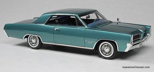 Goldvarg Collection 1:43 1964 Pontiac Grand Prix, Aquamarine