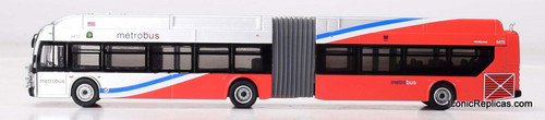 Iconic Replicas 1:87 NFI XN60 Xcelsior Articulated Bus: Washington MWMTA