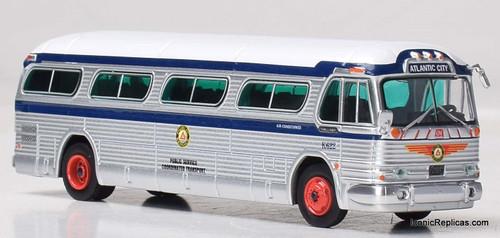 "Iconic Replicas 1:87 GM PD4104 Coach: Public Transport  ""Boardwalk Express"""
