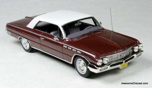 Goldvarg Collection 1:43 1962 Buick Electra, Burgundy