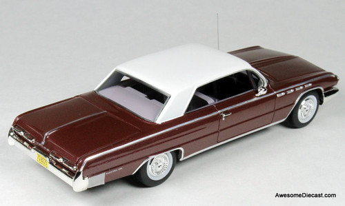 Goldvarg Collection 1:43 1962 Buick Electra, Burgundy