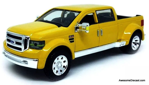 Maisto 1:31 Ford Mighty F-350 Pick-Up, Yellow