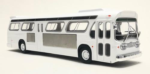 Iconic Replicas 1:43 GM TDH-5303 Transit Bus: Blank White