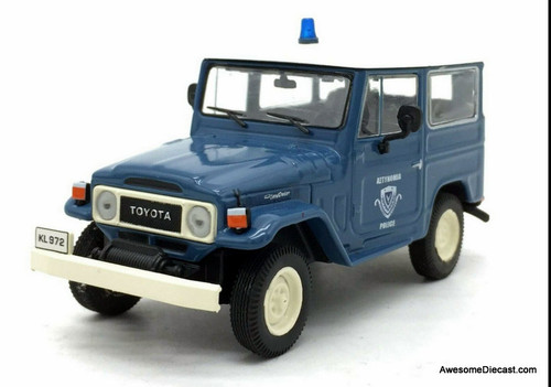 DeAgostini 1:43 1968 Toyota Land Cruiser FJ40: Hellenic Police Force of Greece