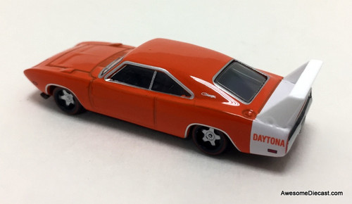 Oxford 1:87 1968 Dodge Charger, Orange/White