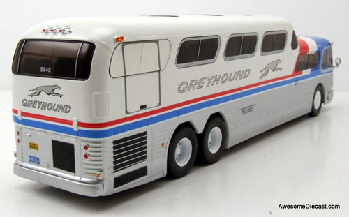 IXO 1:43 GMC PD-4501  Scenicruiser GPX / Package Express:  Greyhound Lines